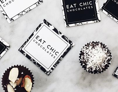 Eat Chic Chocolates Branding