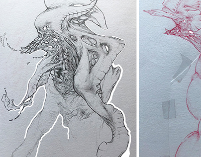 Drawing Sessions IV, V & VI