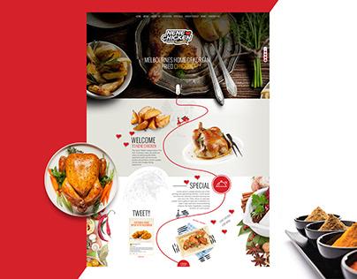 Nene Chicken - Web Design