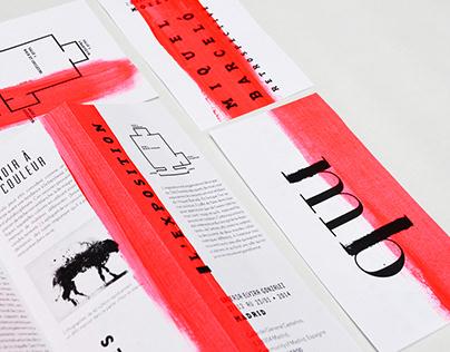 Branding & Print — Exposition, Miquel Barcelo