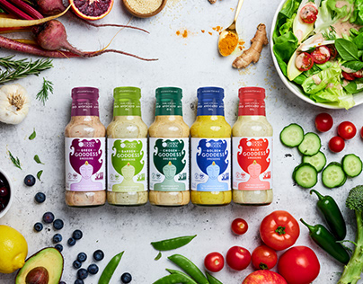 Packaging Goddess Dressing