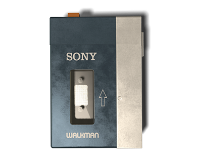 Sony Walkman Prop Model