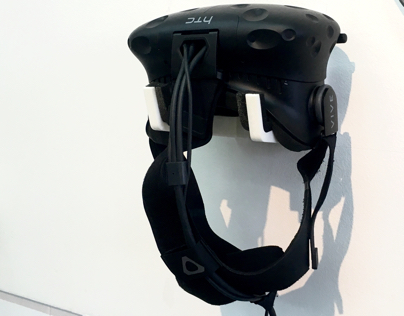 HTC Vive - 3D printed wall holder