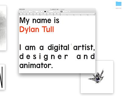 Dylan Tull Showreel 2015
