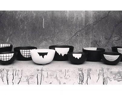 black&white bowls