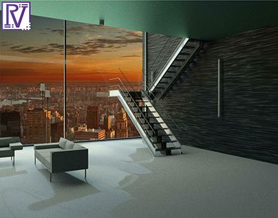 Interior Project: multilevel garage by Rockstar Games