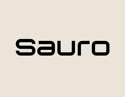 Sauro – Font Family