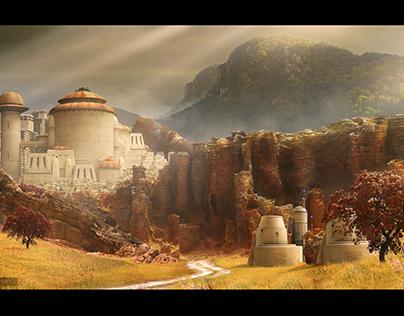 Star Wars temple