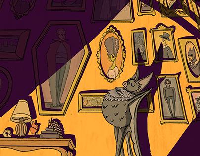 Vampire Bat's Hallway