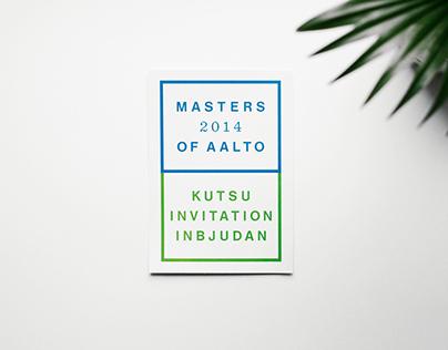 Masters of Aalto 2014