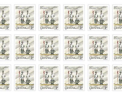 Post stamp dedicated to Tatars