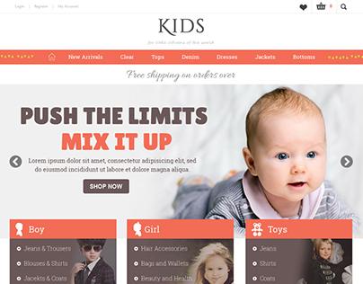 Kids - Shopify Ecommerce theme