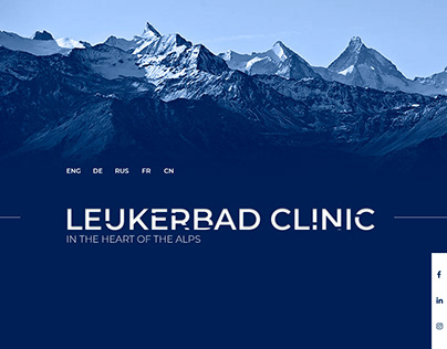 Leukerbad Clinic Website