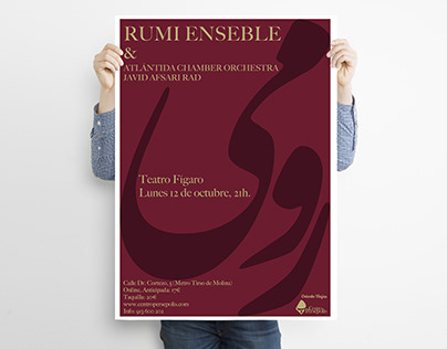 Rumi Ensemble Concert Poster