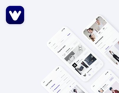 Weecut | Mobile Application | UX, UI, Branding design