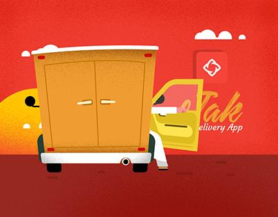 Jak | Delivery App
