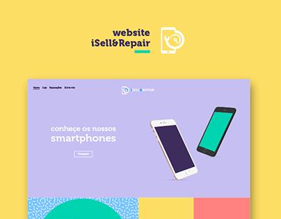 iSell & Repair | website