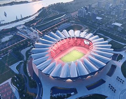 Stadium Lumion Animation