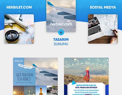 Herbiletcom Sosyal Medya Tasarımları