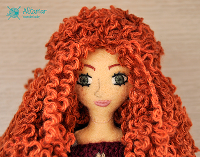 Calabaza. Handmade Doll