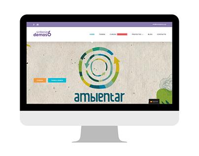 Sintonia Demos - Web Corporativa