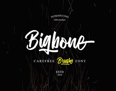 Free Bigbone Font