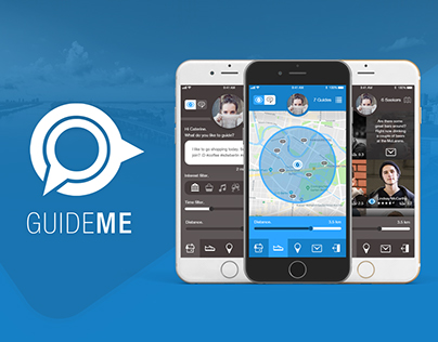 GUIDEME - Explore the city together. #iconcontestXD