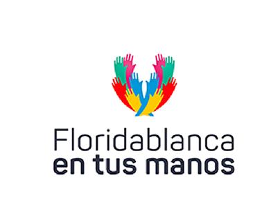Propuestas logotipo Floridablanca en tus manos