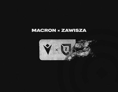 Macron ✖ Zawisza Bydgoszcz   Football Kits