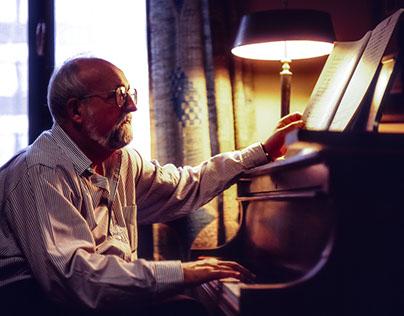 Penderecki Krzysztof polish composer of modern music