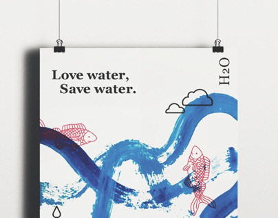 Love water, Save water.