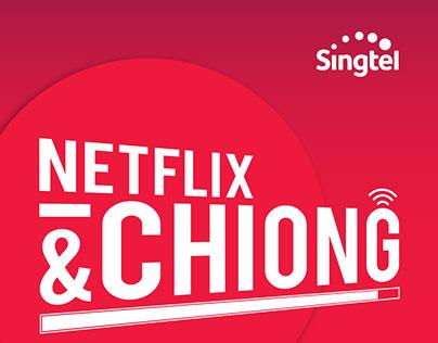 NETFLIX and chiong! digital ads
