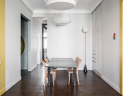 flat in moscow _ Le Atelier