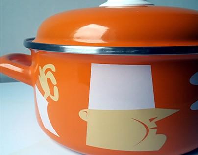 Decor design for Metalac d.o.o. cookware