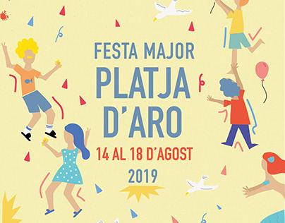 cartel festa major Platja d'aro