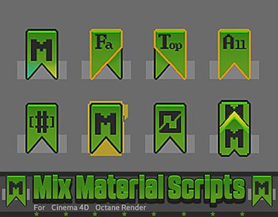 Octane Mix material scripts