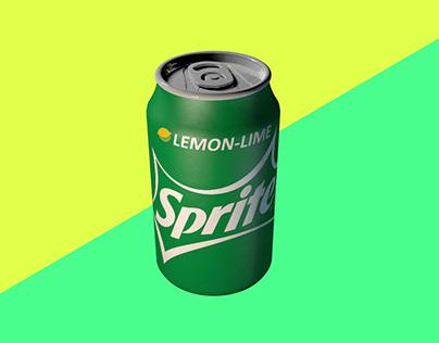 Speed Modeling 003 - Soda Can