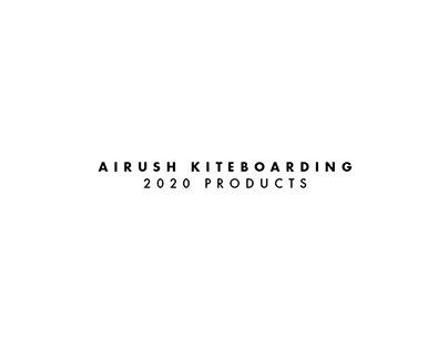 Airush Kiteboarding: 2020 Product Graphics