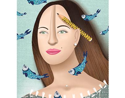 Illustration   Jewelry   The Big Fish