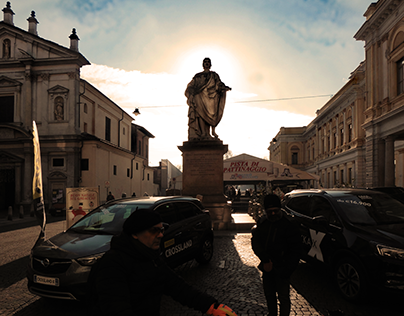 Giornata di sole a Novara