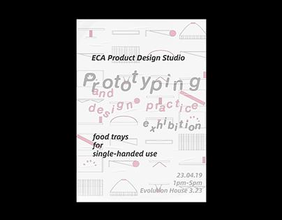 ECA Product Design Exhibition Poster design / ECA展览海报设计