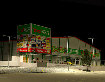 3rd Superstore 3500 sq.m in Ghana