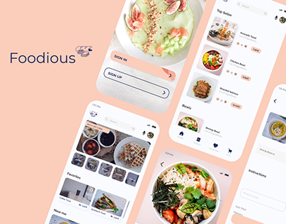 Foodious - Food Truck Delivery App