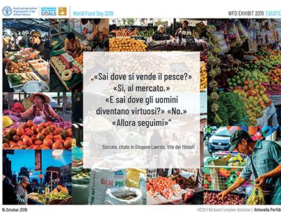 FAO WORLD FOOD DAY EXHIBIT 16.10.2019