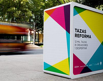 Tazas Reforma / Event Branding