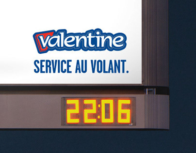 Service au volant / Valentine