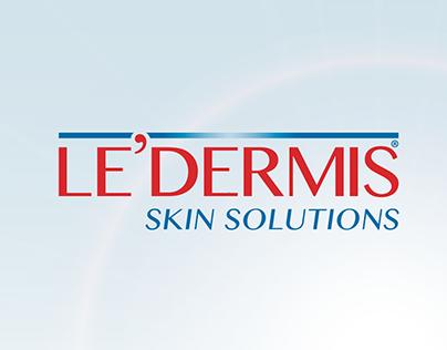 LE'DERMIS Re Brand & Campaign