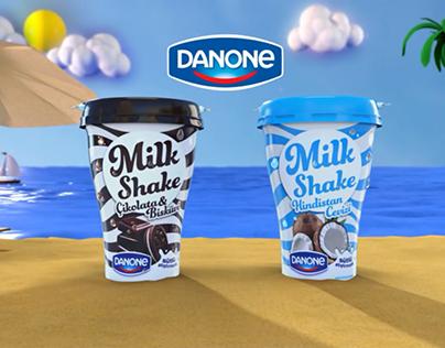 Danone - Tam Sallamalık Milkshake