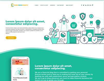 For Finance Related Blog Website