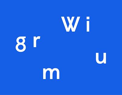 Wigrum — Retail Typeface